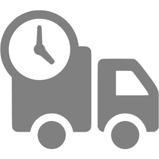Gray Delivery Icon