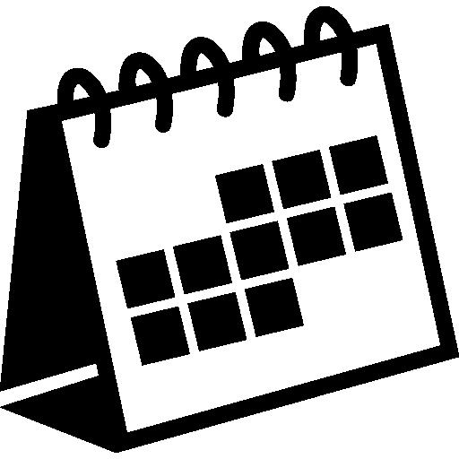 Spring Desktop Calendar Variant Icons Free Download