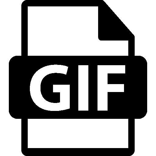 Gif Format Symbol Icons Free Download