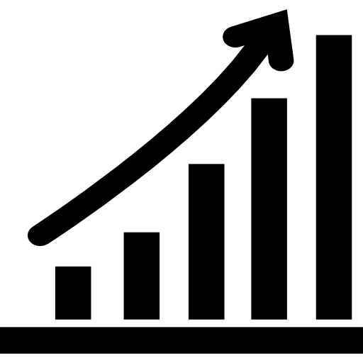 Increasing Stocks Graphic Icons Free Download