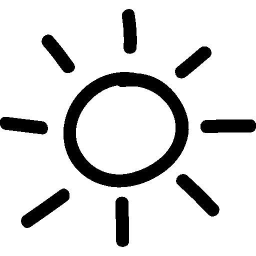 Sun Hand Drawn Symbol Icons Free Download