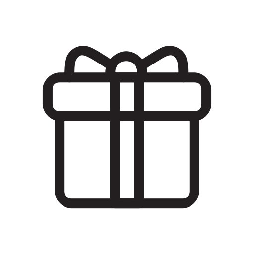 Gift, Holiday, Presents, Xmas Icon