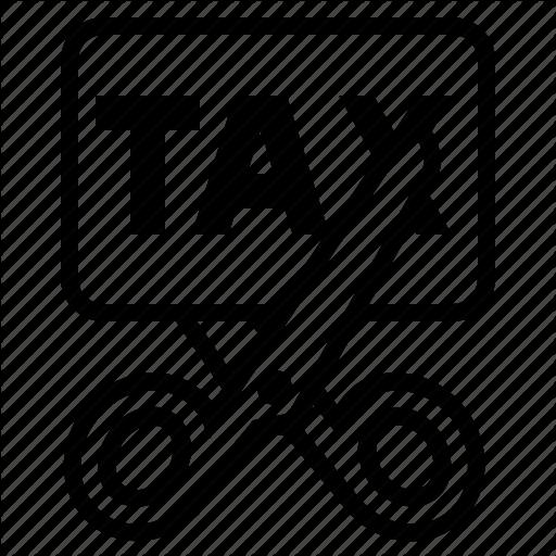 Business, Finance, No Tax, Tax, Tax Cut, Tax Exempt, Tax Free Icon