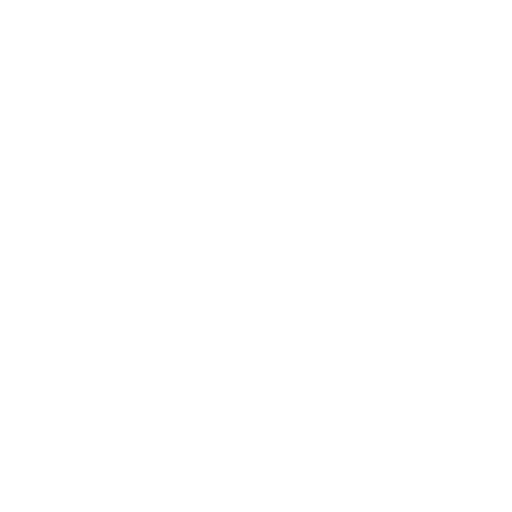 White Delete Database Icon