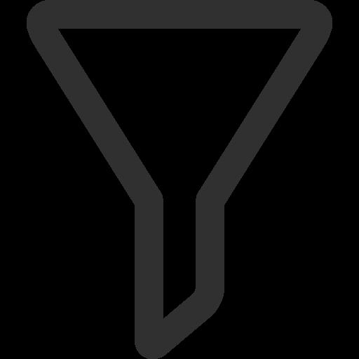 Filter Icon Mono General Iconset Custom Icon Design