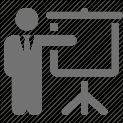 Presentation Drawing Icon