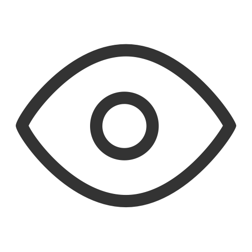 Ios Eye Outline, Ios, Layers Icon Png And Vector For Free Download