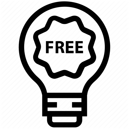 Bulb, Energy, Free, Idea, Light, Light Bulb, Tag Icon