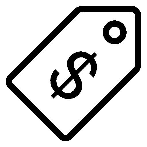 Price, Tag, Usd, Vector Icon