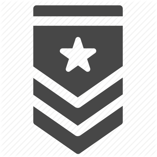 Army, General, Military, Position, Rank, Soldier, Tier Icon