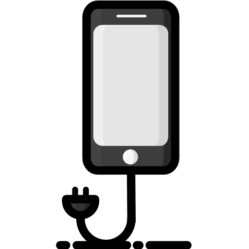 Cell, Phone, Charger Icon Free Of The Traveller Goodies