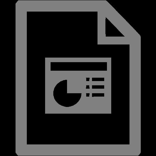 Gray Powerpoint Icon