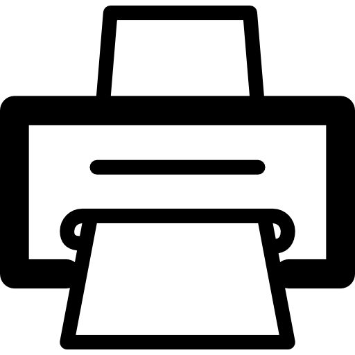 Print Icons Free Download