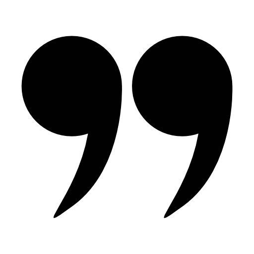 Right Double Quotation Mark Icon Download Free Icons