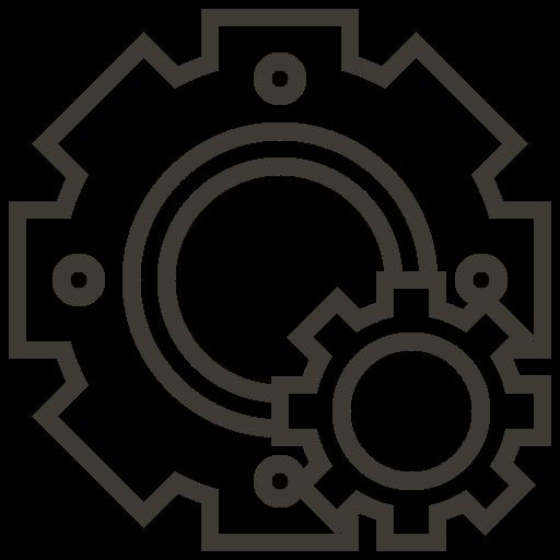 Accessories, Automobile, Car, Gear, Service Icon