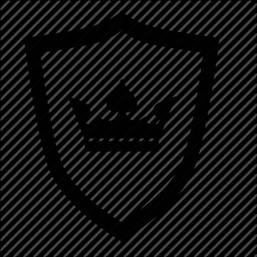 Kingdom, Knight, Royal, Shield Icon