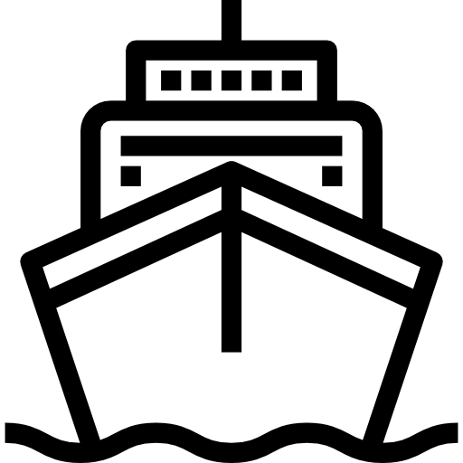 Ship Free Transport Icons Logo Image