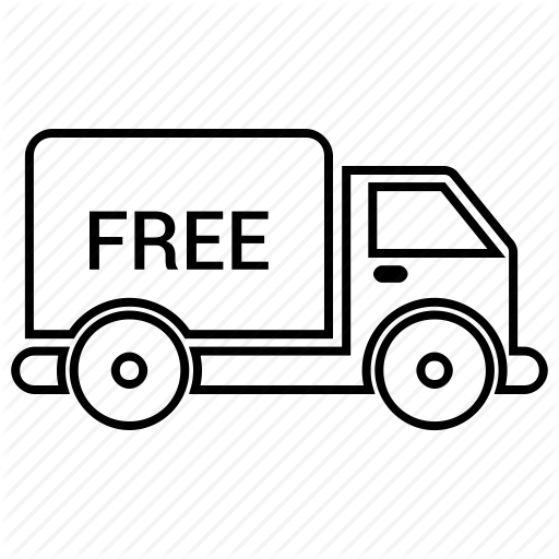 Courier, Delivery, Express, Fast, Free, Shipping, Truck Icon