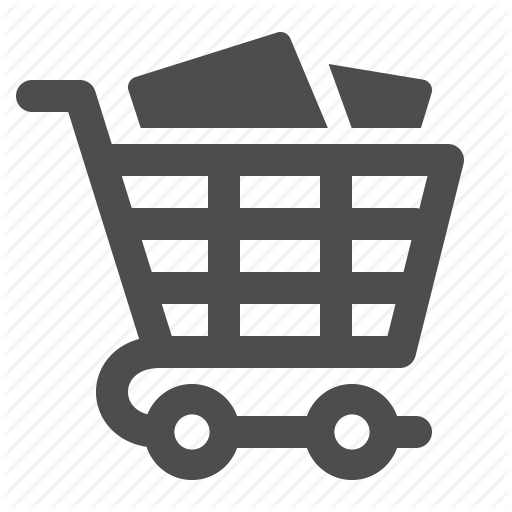 Buy, Buying, Cart, Full, Groceries, Shopping, Shopping Cart Icon
