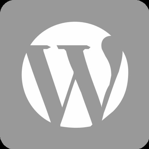 Blog, Bloging, Internet, Media, Social Media, Wordpress Icon