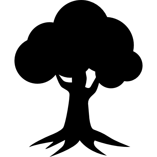 Royal Oak Homes Logo Of Tree Silhouette Icons Free Download