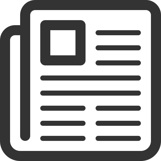 News, Newspaper, Subscribe Icon