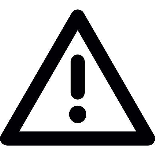 Triangle Warning Icons Free Download