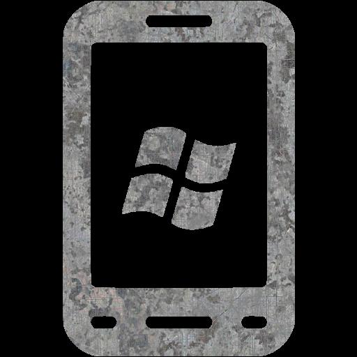 Eroded Metal Windows Icon