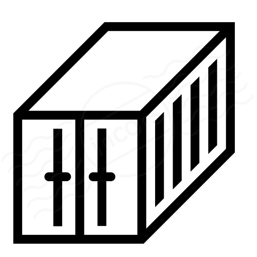 Iconexperience I Collection Cargo Container Icon