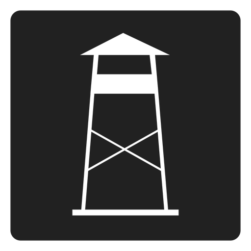 Coast Watch Station Square Icon