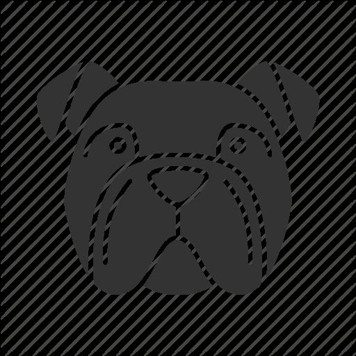 Breed, Bulldog, Dog, English, Frenchie, Pet, Puppy Icon