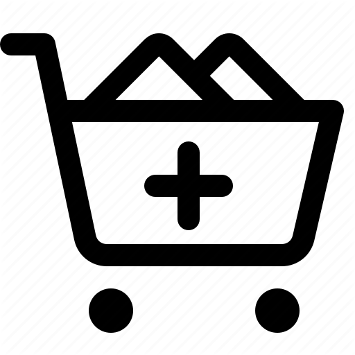 Black, Buy, Cart, Friday, Order, Plus, Shopping, Trolly Icon