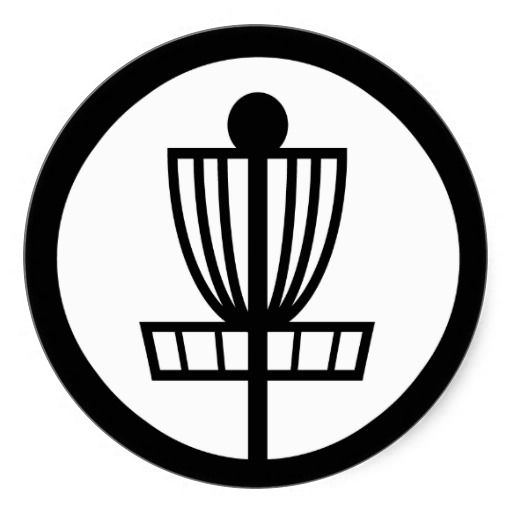 Disc Golf Pole Hole Basket Icon