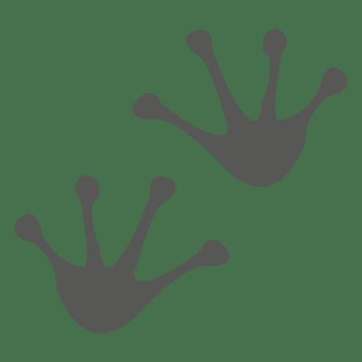 Frog Footprint Icon