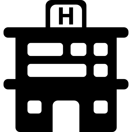 Hospital Building Front Icon Medical Icons Freepik