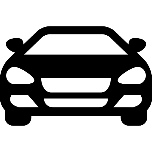 Sedan Car Front Icons Free Download