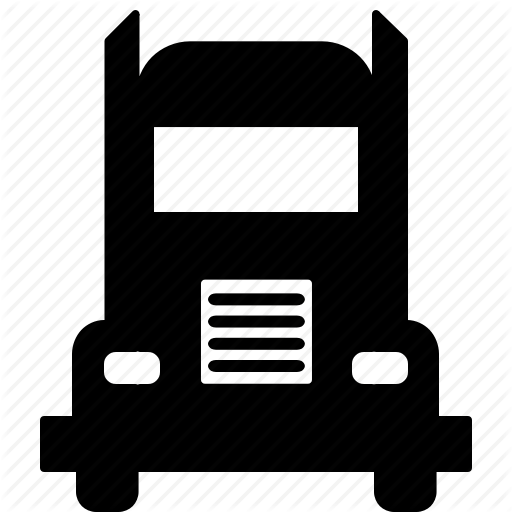 Delivery, Transportation, Truck, Truck Front Icon