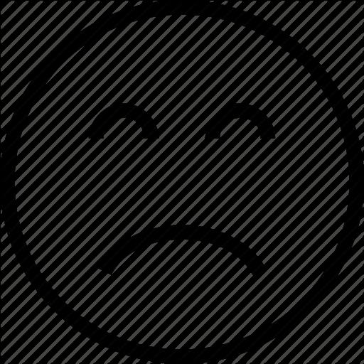Depression, Frown, Sad, Upset Icon Icon