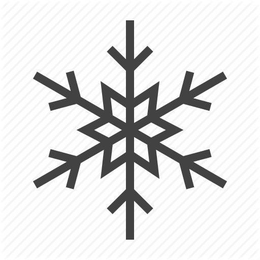 Frozen, Insulated, Material, Winter Icon