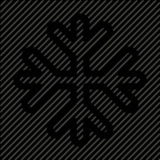 Cold, Frozen, Snow, Snowflake Icon