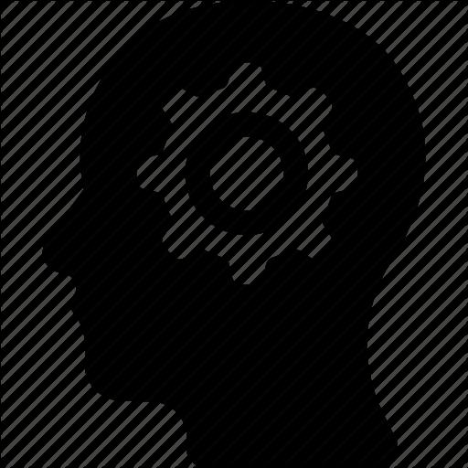 Brain, Brainstorming, Cog, Cogwheel, Frustration Icon