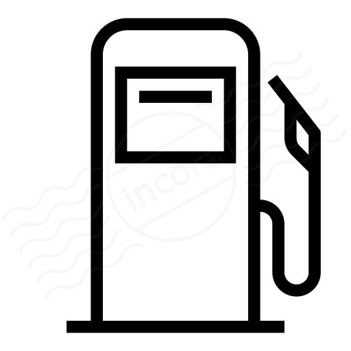 Iconexperience I Collection Fuel Dispenser Icon