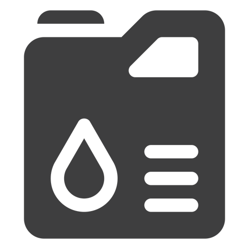 Jerry Can Fuel Tank Icon