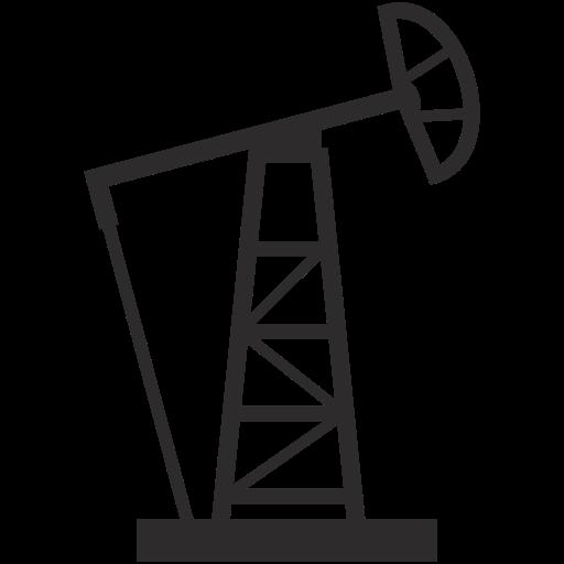 Oil Drilling Machine Icon