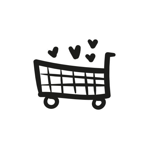 Heart Shopping Cart Icon Download Free Icons