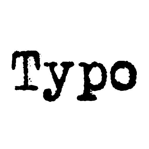Typo On Twitter Here