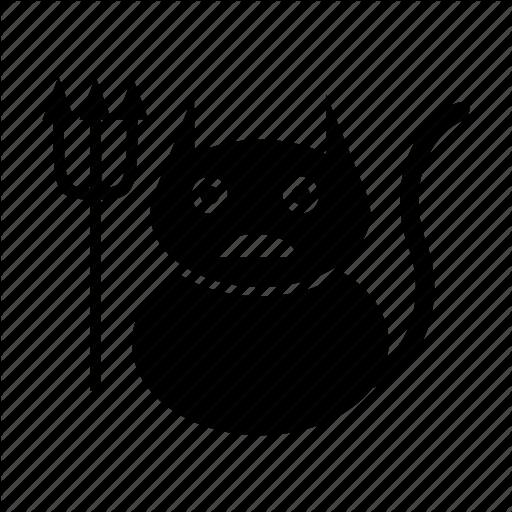 Cats, Devil, Emoticons, Funny, Unique Icon