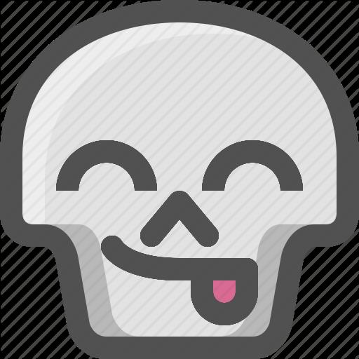 Avatar, Death, Emoji, Face, Funny, Skull, Smiley, Tongue Icon