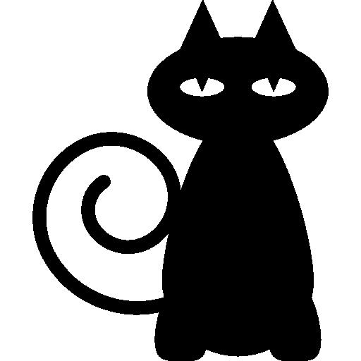 Black Cat Icons Free Download