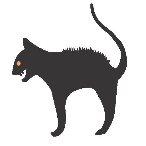 Cat Icon Halloween Iconset Css Creme